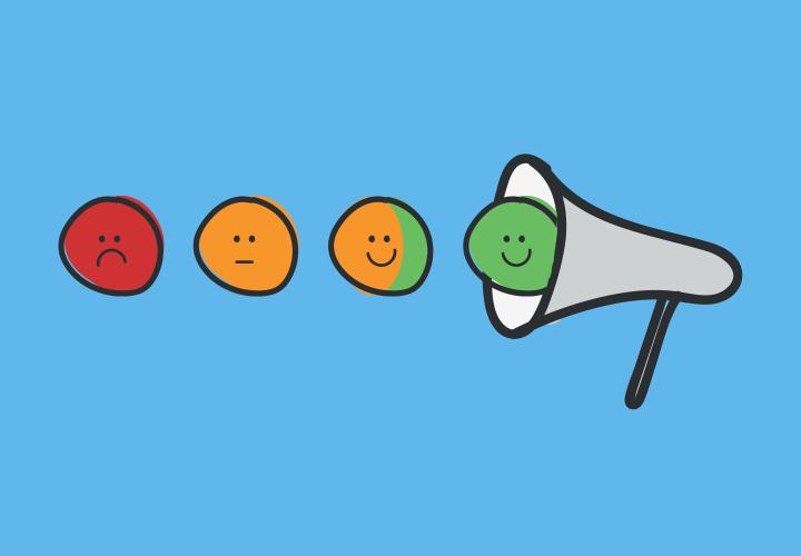 encourage users feedback